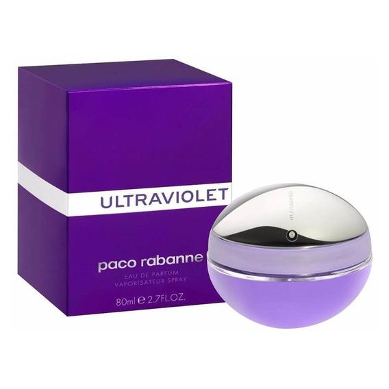 Perfume Paco Rabanne Ultraviolet 80ml Para Mujer