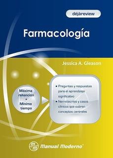 Déjàreview Farmacología -libro Papel Original- Envío Gratis!