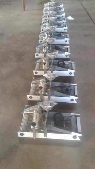 Rebozadora De Mesa Premiun Z5 Produccion 40kg Por Hora .