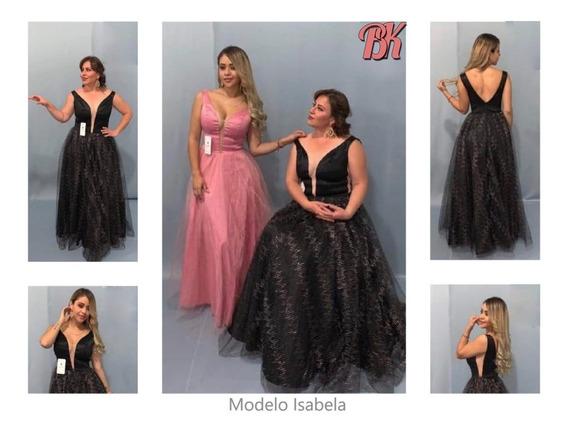 Vestido De Fiesta Modelo Isabela