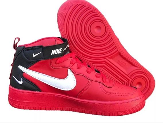 Tenis Bota Nike Air Force Tm Masc/feminino Frete Gratis []