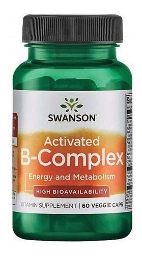 Swanson Activated B-complex Salud Sist Nervioso Inmune