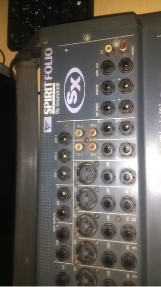 Mesa De Som, Spirit Folio Sx | Soundcraft #mixer.top