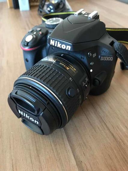 Nikon D3300 + Bateria + Lente 18-55 Mm Vr Ii Kit