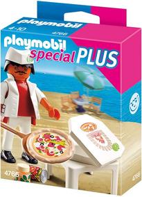 Playmobil 4766 Pizzaiolo C Acessórios Spec Plus Prod.europ.