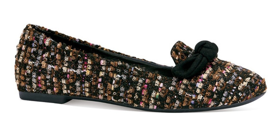 Gosh Flats Loafers Moño Multicolor Casuales Moda 0379101
