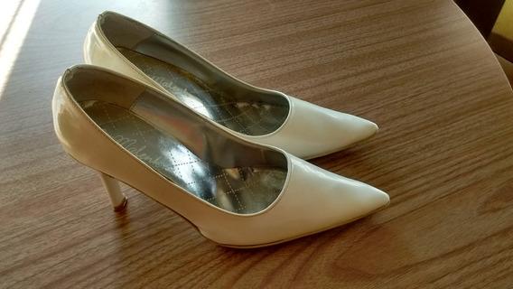 Zapatos Blancos Mujer.ideal Para Casamiento!!!
