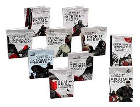 Coleção As Crônicas Saxônicas - 10 Livros