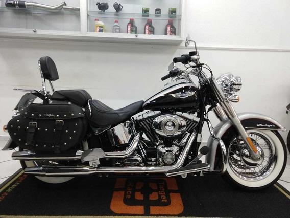 Harley Davidson Softail Deluxe 2015 Prata - Target Race