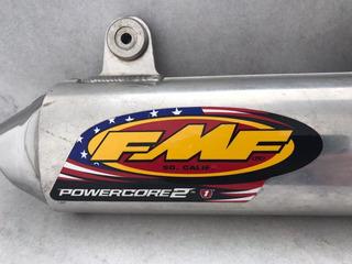 Escapamento De Moto Ponteira Fmf Powercore 2 Ktm Husq Husa