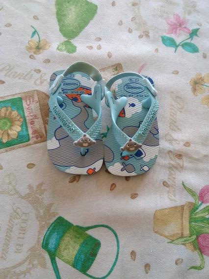 Ojotas Havaianas Para Bebe Talle 17 - 18