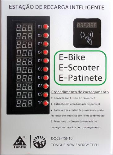 Estação De Recarga Bike Elétrica - Micro Mobilidade Elétrica