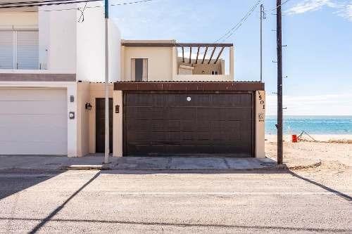 Casa A La Venta Sobre La Playa De Bahía De Kino