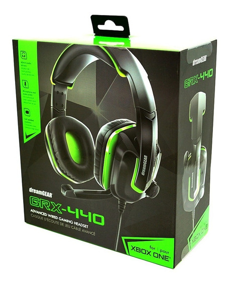 Headset Ps4 Playstation 4 Xbox One Dreamgear Grx-440 - Verde