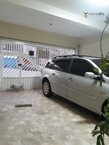 Casa À Venda, 130 M² Por R$ 371.000,00 - Cidade São Jorge - Santo André/sp - Ca0231