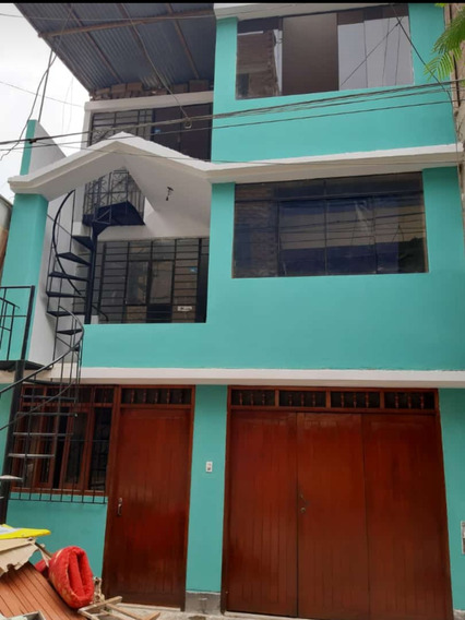 Remato Casa 3 Pisos - Área 100m2 - San Juan De Lurigancho