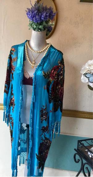 Kimono De Lujo Largo