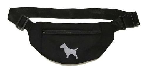 Riñonera Hf ® Bull Terrier - Color Negro - Básica