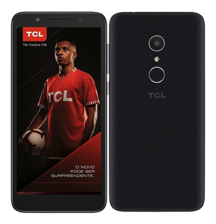 Smartphone Tcl L9, Preto, Tela 5.3, 13mp, 16gb, Tv Digital