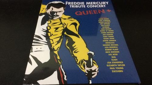 Queen-freddie Mercury Tribute Concert- 3 Dvd Nuevo Cerrado
