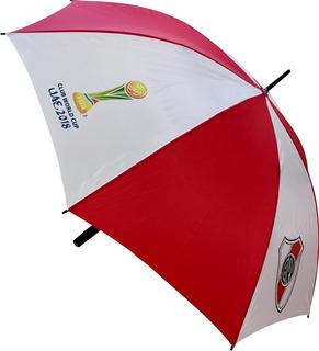 Paraguas Gigante River Plate Mundial De Clubes