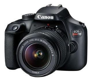 Canon Eos Rebel T100 Kit 18-55mm 18mp Wi-fi Garantia Oficial