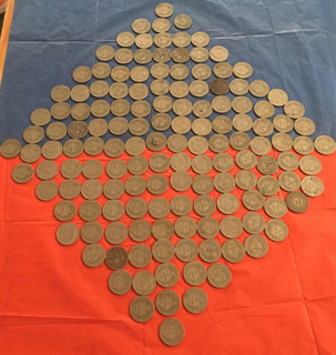 Moneda Chilena 1 Peso 1933