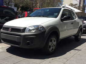 Fiat Strada 0km 1.4 Working Cd Apto Credito 2018 No Usada Lc