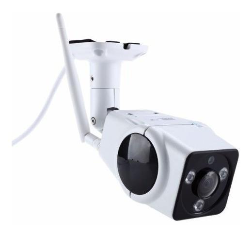 Câmera 360 Graus Ip Externa Wifi Acesso Celular Android Ios