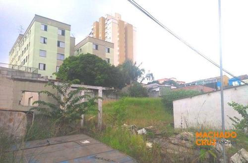 Terreno À Venda, 960 M² Por R$ 1.378.000,00 - Paulicéia - São Bernardo Do Campo/sp - Te0005