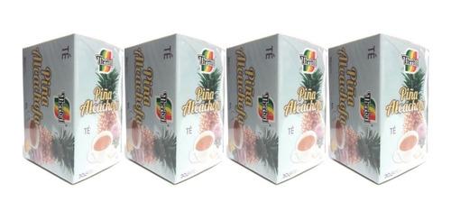 Té Piña Alcachofa Therbal 30 Sobres (4 Pzs) Envio Full