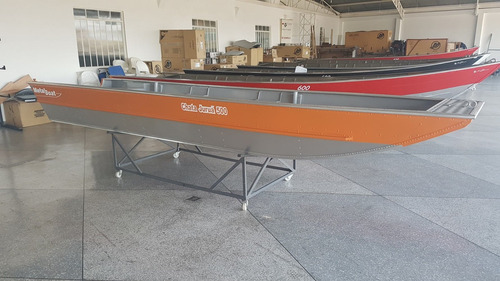 Barco Alumínio Chata Juruá 500 Metalboat