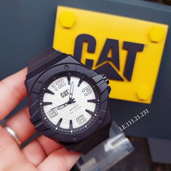 Relógio Caterpillar Le11121231 Spirit 2 100% Aço 10bar Cat