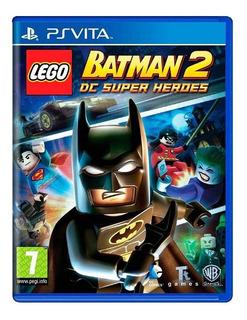 Lego Batman 2 Dc Super Heroes Ps Vita Mídia Física Lacrado
