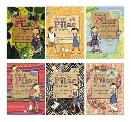 Imagen 1 de 8 de Pack Diario De Pilar (6 Libros) - Flavia Lins E Silva