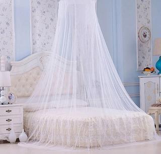 Pabellón Para Cama Individual Y Matrimonial De Tela Tul