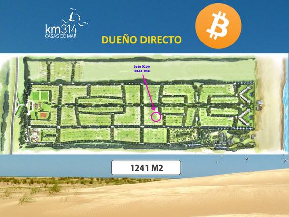 Lote - Casas De Mar - Km314 - Dueño - Bitcoin - Oportunidad!