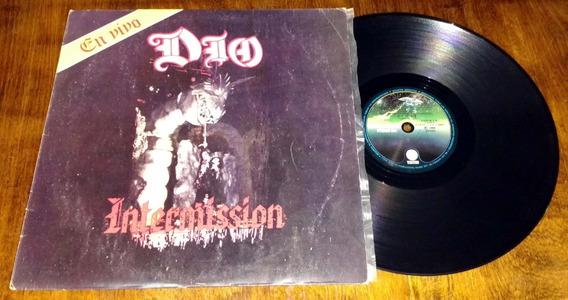 Dio Intermission En Vivo Lp Vinilo Disco