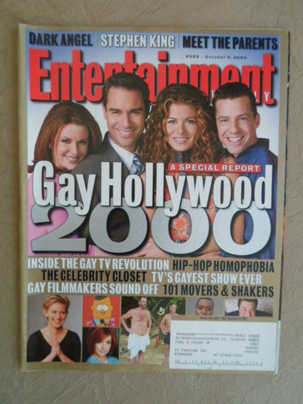 Entertainment Weekly 562 (outubro 2000) Gay Hollywood