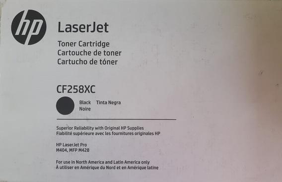 Cartucho Toner Original Hp M404, Mfp M428 Cf258xc 58x
