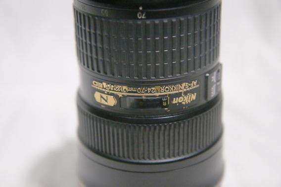 Lente Nikon Af-s Nikkor 24-70mm F/2.8g Ed (usada)