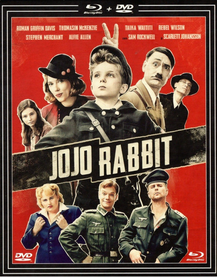 Jojo Rabbit Taika Waititi Pelicula Blu-ray + Dvd