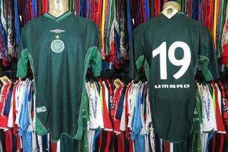 Guaraní 2001 Camisa Titular Rio-sp Tamanho Gg Número 19.