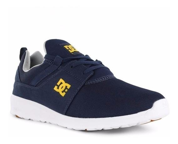 Zapatillas Dc Shoes Heathrow Azul Amarillo