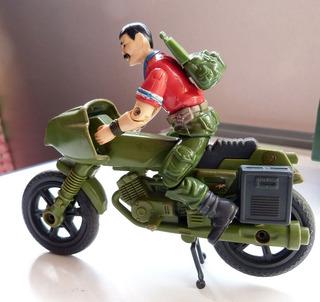 Comandos Ação 2 Em 1 Homem Bala Moto Estrela 1989 Gijoe Lote