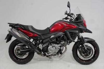 Suzuki V Strom 650 Xt Abs 2018 Vermelha