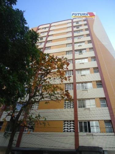 Imagem 1 de 21 de Apartamento Com 1 Dormitório Para Alugar, 49 M² Por R$ 1.500,00/mês - Itararé - São Vicente/sp - Ap0213