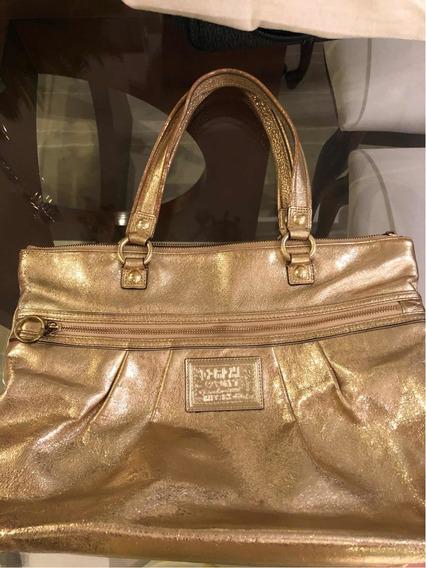 Bolsa Coach Original Dourada