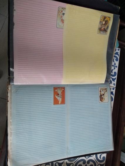 Coleção + De 140 Papéis De Carta. Creio Que Déc. 70/80/90