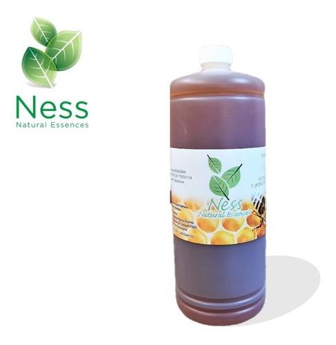 Imagen 1 de 2 de 1 Litro Shampoo Libre De Sulfatos Sal Y Parabenos Miel